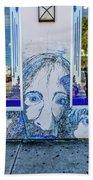 8261- Little Havana Mural Bath Towel