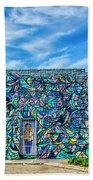 8276- Little Havana Mural Bath Towel