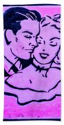8280- Little Havana Mural Bath Towel