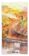 A Trip To Lewiston  In Autumn Album Bath Towel