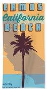 Hermosa Beach. Bath Towel