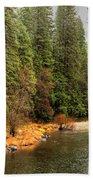 Merced River Yosemite Valley Hand Towel