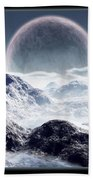 Planet Rise Bath Towel