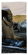 The Egyptian Museum Of Antiquities - Cairo Egypt Bath Towel