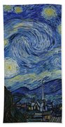 The Starry Night Bath Towel