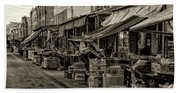 9th Street Italian Market - Philadelphia Pennsylvania Bath Towel