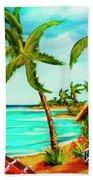 A Beautiful Day  Oahu #357 Hand Towel