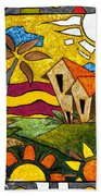 A Beautiful Day Hand Towel