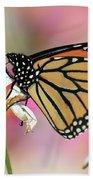 A Beautiful Monarch Bath Towel
