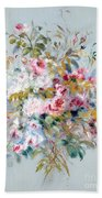 A Bouquet Of Roses Bath Towel
