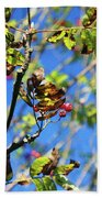 A Branch Standing Out From The Crowd Bath Towel