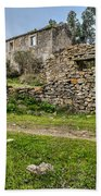 A Cottage In Ruins Bath Towel