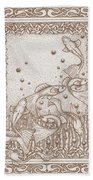 A Dance Around The Bubbles Bath Towel