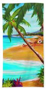 A Day In Paradise Hawaii #359 Hand Towel