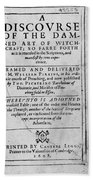 A Discourse On The Damned Art Of Witchcraft Bath Towel