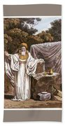 A Druid In His Judicial Habit Bath Towel