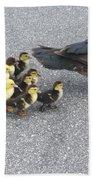A Family Outing  Bath Sheet by April Wietrecki Green