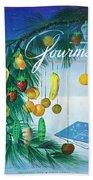 A Gourmet Cover Of Marzipan Fruit Bath Towel
