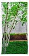 A Grove Of Birches 2 Bath Towel