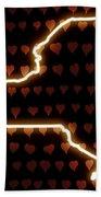 A Heart In New York Bath Towel