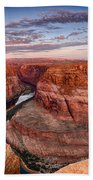 A Horseshoe Bend Morning  Bath Towel