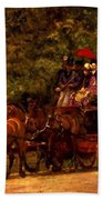 A May Morning In The Park The Fairman Robers Four In Hand 1880 Bath Towel