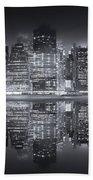 A New York City Night Bath Towel