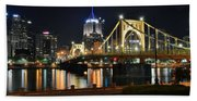 A Pittsburgh Panorama Bath Towel