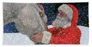 A Present For Santa Hand Towel