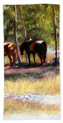 A Rest By The River Hand Towel