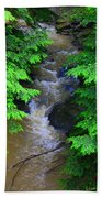 A River Runs Through It Bath Towel