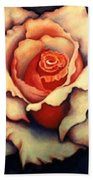 A Rose Bath Towel