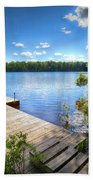 A Spring Day On West Lake Bath Towel