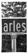 Ch - A Street Sign Named Charles Bath Towel