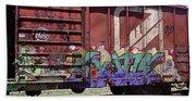 A Train Car Named Desire Bath Towel