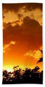 A Tropical Sunset Bath Towel