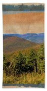 Equinox Mountain, Vermont.             Bath Towel