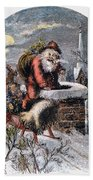 A Visit From St Nicholas Bath Towel