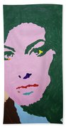 A J Winehouse Bath Towel
