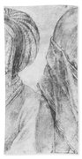 A Young Girl Of Cologne And Dbcrer Wife 1520 Bath Towel
