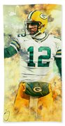Aaron Rodgers Bath Towel