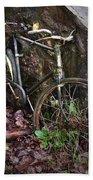 Abandoned Bicycle Bath Towel