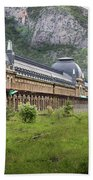 Abandoned Side Of The Canfranc International Railway Station Bath Towel
