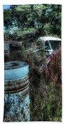 Abandoned Vehicles - Veicoli Abbandonati  1 Bath Towel