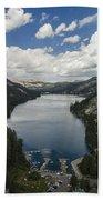 Above Echo Lake Bath Towel
