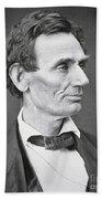 Abraham Lincoln Bath Towel