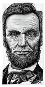 Abraham Lincoln Hand Towel