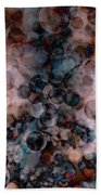 Abstract - Colorful Bubbles Bath Towel