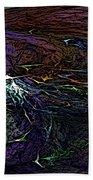 Abstract 030211 Bath Towel