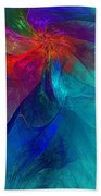 Abstract 120610 Bath Towel